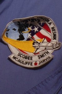 Challenger Mission badge.