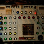 SYNTHI - This is an awesome quirky  little synth, who's owner took the time to educate me about it.