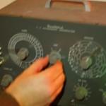 Re-purposed piece of TV testing equipment.