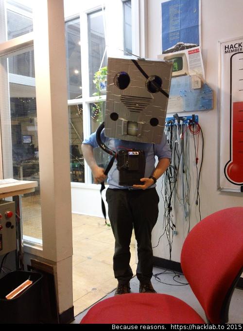 Atrain is a robot